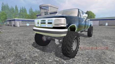Ford F-250 [diesel] для Farming Simulator 2015