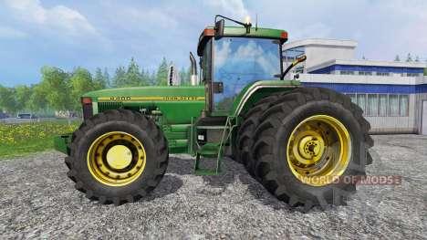 John Deere 8400 [American] для Farming Simulator 2015