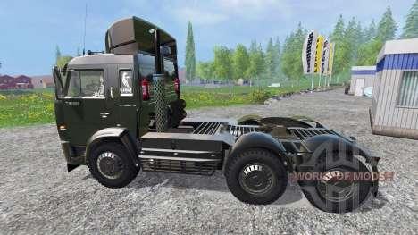 КамАЗ-54115 v2.0 для Farming Simulator 2015