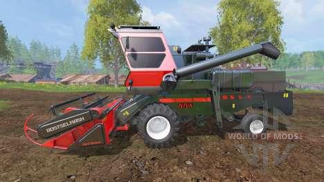 СК-5МЭ-1 Нива-Эффект v1.1 для Farming Simulator 2015