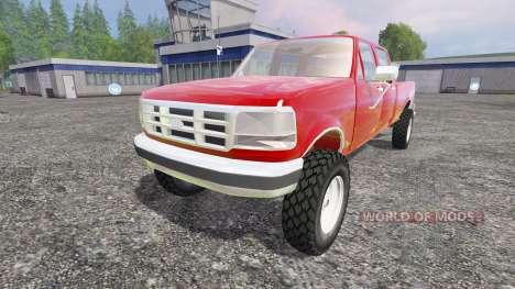 Ford F-250 1992 [crew cab] для Farming Simulator 2015