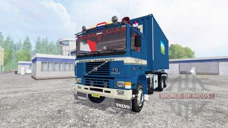 Volvo F12 HKL v2.0 для Farming Simulator 2015