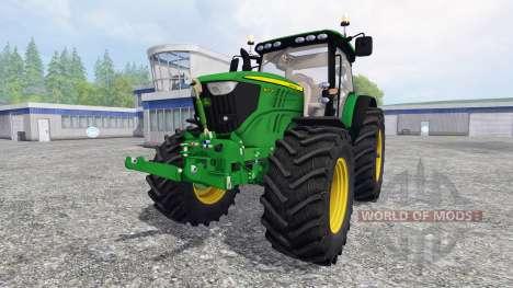 John Deere 6210R v1.0 для Farming Simulator 2015