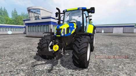 New Holland T6.160 Police для Farming Simulator 2015