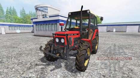 Zetor 7745 для Farming Simulator 2015