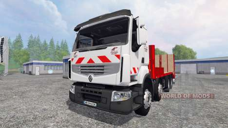 Renault Premium Lander [tow truck] для Farming Simulator 2015