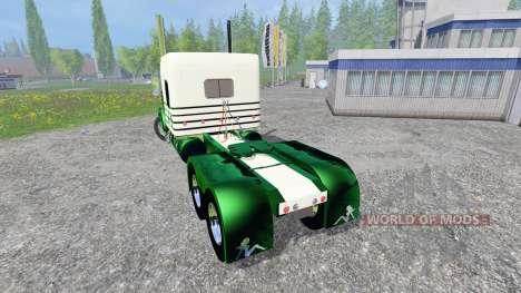Kenworth W900L 2007 [flattop] для Farming Simulator 2015