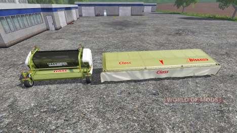 CLAAS EasyFlow300 and XDisc 6200 для Farming Simulator 2015