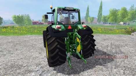 John Deere 7530 Premium v1.2 для Farming Simulator 2015