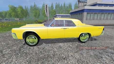 Lincoln Continental 1962 для Farming Simulator 2015