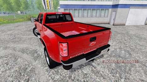 Chevrolet Silverado 3500 [pack] для Farming Simulator 2015