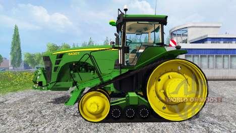 John Deere 8430T [European] v2.0 для Farming Simulator 2015
