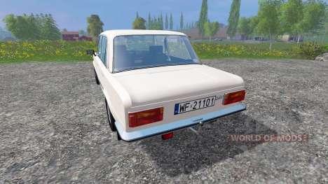 Fiat 125p для Farming Simulator 2015