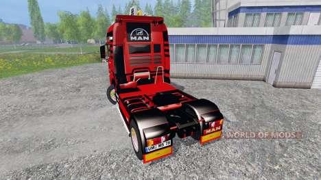 MAN TGX для Farming Simulator 2015