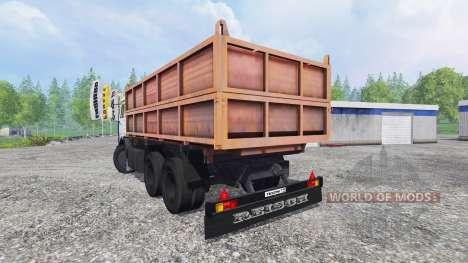 КамАЗ-45143 v2.0 для Farming Simulator 2015