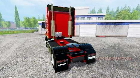 Scania T164 [two axial] для Farming Simulator 2015