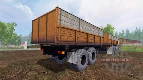 КамАЗ-55102 v1.3 для Farming Simulator 2015