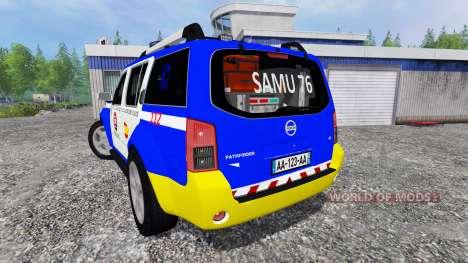 Nissan Pathfinder Police для Farming Simulator 2015