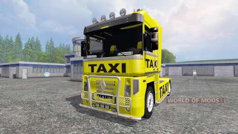 Renault Magnum [taxi] для Farming Simulator 2015
