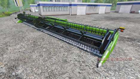 Deutz-Fahr 7545 Super Flex Draper для Farming Simulator 2015