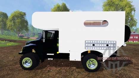 Camper для Farming Simulator 2015