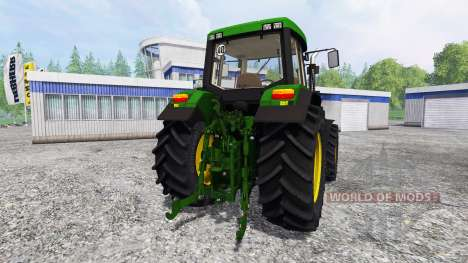 John Deere 6810 v2.0 для Farming Simulator 2015