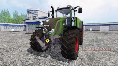 Fendt 828 Vario SCR для Farming Simulator 2015