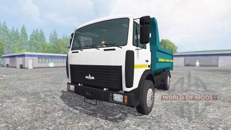 МАЗ-5551 v1.0 для Farming Simulator 2015