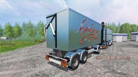 Scania R730 [bruks] v1.1.1 для Farming Simulator 2015