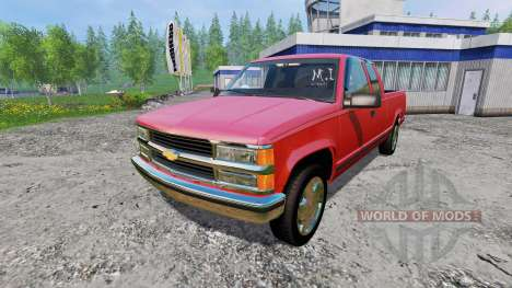 Chevrolet Silverado 1996 для Farming Simulator 2015
