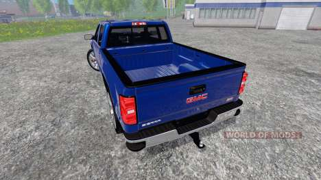 GMC Sierra 1500 2014 для Farming Simulator 2015