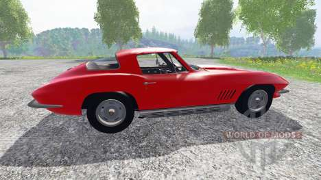 Chevrolet Corvette 1967 v1.1 для Farming Simulator 2015