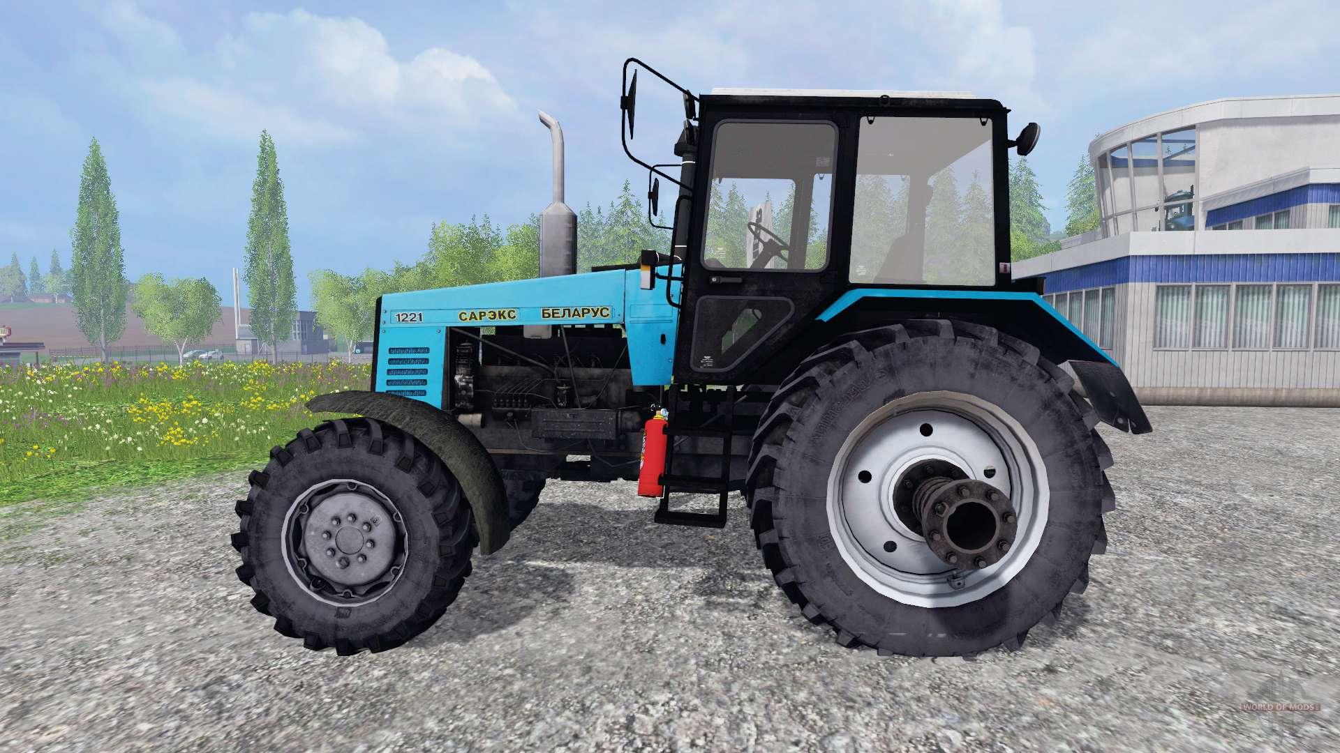 Технические характеристики трактора МТЗ - 1221 (Беларус.