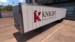 Knight Trailer для American Truck Simulator