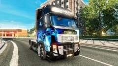 Скин Star Trek in to Darkness на тягач Volvo для Euro Truck Simulator 2
