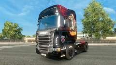 Скин Scania на тягач Scania для Euro Truck Simulator 2