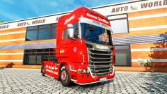 Скин Emons на тягач Scania для Euro Truck Simulator 2