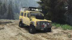 Land Rover Defender 110 Camel Trophy [25.12.15] для Spin Tires