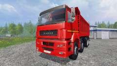 КамАЗ-65802 8x4 v2.0