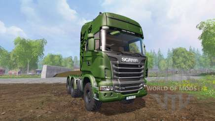 Scania R730 [euro farm] v1.5 для Farming Simulator 2015