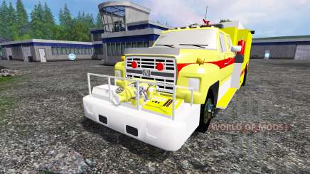 Ford F-800 [fire truck] для Farming Simulator 2015