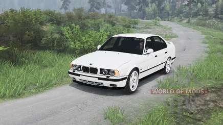 BMW M5 (E34) 1995 [25.12.15] для Spin Tires