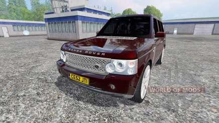 Range Rover Supercharged 4WD для Farming Simulator 2015