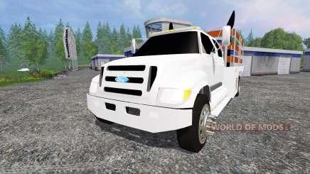Ford F-650 [stakebed] для Farming Simulator 2015
