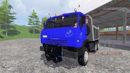 КамАЗ-65115 v2.0 для Farming Simulator 2015