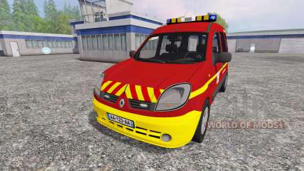 Renault Kangoo [fire service] для Farming Simulator 2015