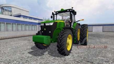 John Deere 7310R [USA] v1.5 для Farming Simulator 2015