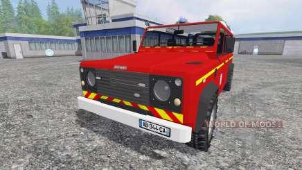 Land Rover Defender 110 для Farming Simulator 2015