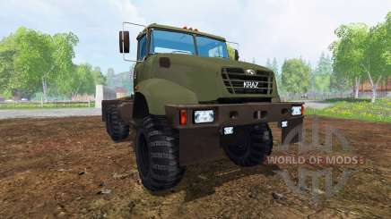 КрАЗ В18.1 v3.0 для Farming Simulator 2015
