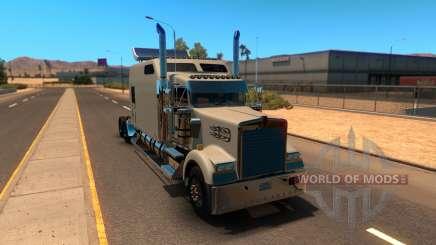 Kenworth W900B Long для American Truck Simulator